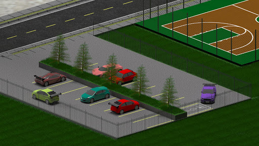 Car Parking: Real 3D Driving Test Car Game  captures d'u00e9cran 2