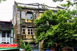 Photo: Year 2 Day 54 -  Colonial Style Architecture in Yangon
