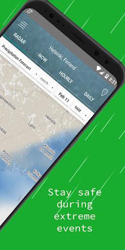 Weather Radar u2014 Live Maps & Alerts 4.3 screenshots 2