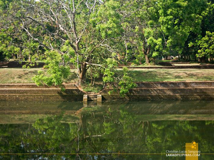 Sigiriya Rock Sri Lanka Water Garden