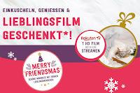 Angebot für Friendsmas - Einkuscheln, genießen, Lieblingsfilm geschenkt im Supermarkt