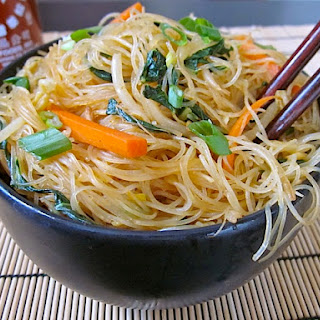 Vegetarian Rice Vermicelli Noodles Recipes.