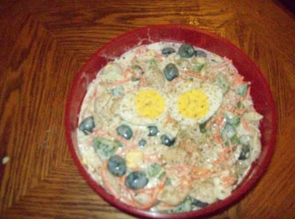 Shells Pasta Salad By Diane