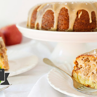 Salted Caramel Apple Bundt Cake