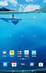 screenshot of ASUS LiveOcean(Live wallpaper)