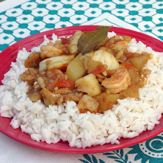 Cape Malay Seafood Curry.