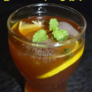 Lemonade with Palm Jaggery.