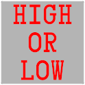 High or Low - Drinking Game icon