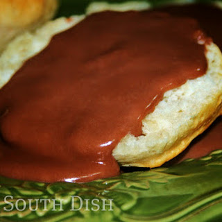 Chocolate Gravy and Biscuits