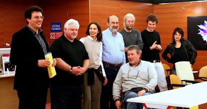 """Photo: foto di gruppo con gli Autori selezionati, i Lettori ed il Presidente del """"Fotoclub Lucinico"""""""