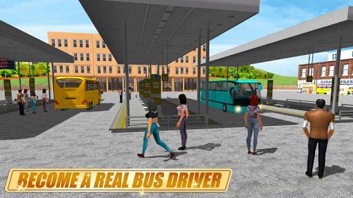 Real Coach Bus Simulator 3D 1 screenshots 5