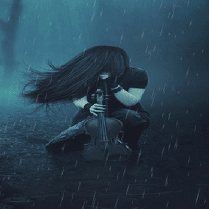 Rainy Music Live Wallpaper apk