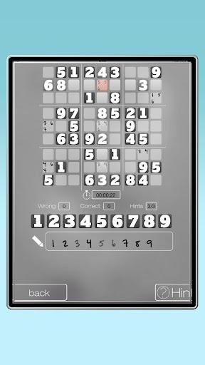 A Black White Sudoku Free