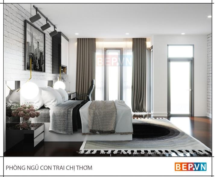 Giường acrylic bền đẹp, đa dạng màu sắc