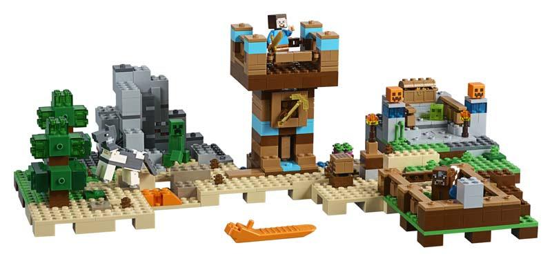 Contenido de Lego® 21135 Caja Modular 2.0