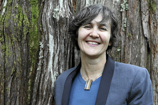 Eco-warrior: Nicole Rycroft says there is no reason why ancient and indigenous trees should be cut down to make books and clothing. Her NGO is working with the packaging and paper industries, clothing brands and retailers, to change their thinking. Picture: SUPPLIED
