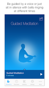 The Mindfulness App- screenshot thumbnail