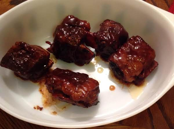 Crockpot Barbecue Short Beef Ribs