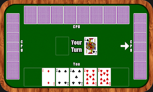 Old Maid - Play Online Screenshot