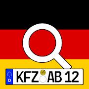 Deutsche Kennzeichen-Finder mit Karte