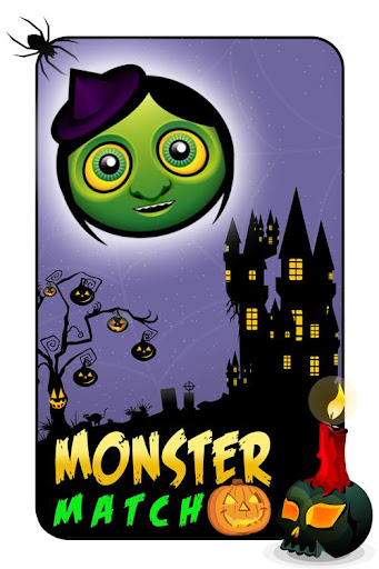 Halloween Monster Candy Match