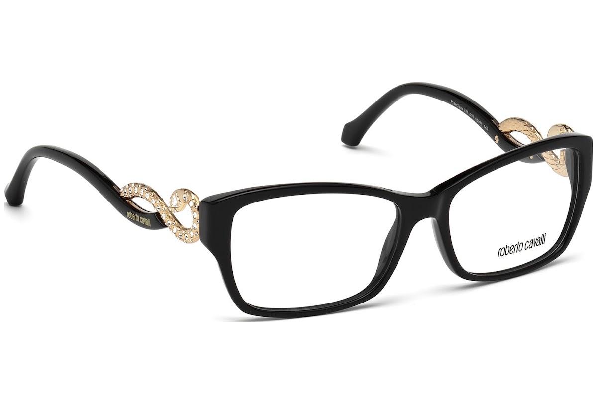 Buy Roberto Cavalli Praecipua RC0937 C55 001 (shiny black / ) Frames ...