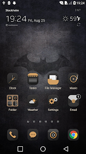 Bat LGHome Theme for LG G6 G5 V30 G4 G3 V20 K10 2 03 APK for