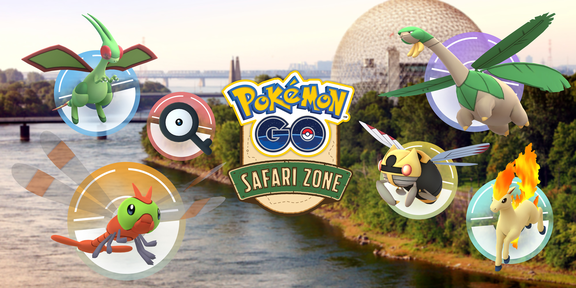 Pokémon GO Safari Zone at Montreal - Pokémon GO