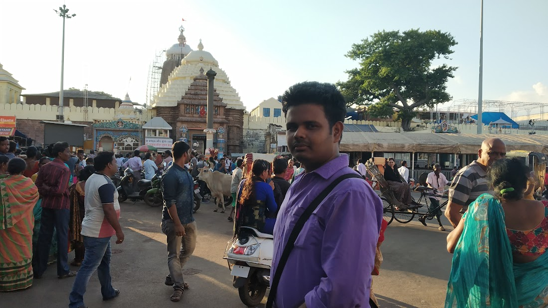 Visited Jagannath Temple, Puri