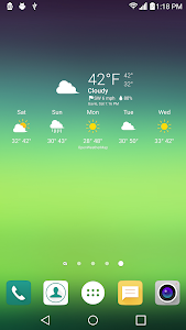 UX 5 Weather Icons for Chronus v1.0