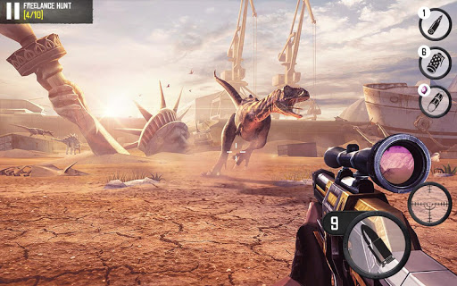 Best Sniper Legacy: Dino Hunt & Shooter 3D cheat screenshots 2