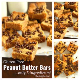 Gluten-Free Peanut Butter Bars.