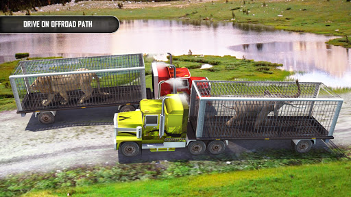 Animal Transporter Offroad Drive screenshots 13