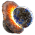 Planetary Collision Live Wall icon
