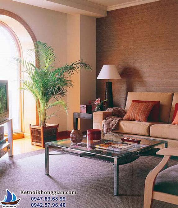 thiết kế phòng khách ấm cúng