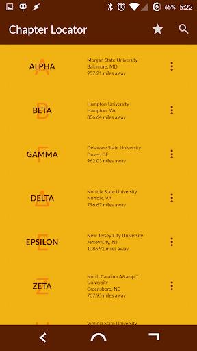 Iota Phi Theta Chapter Locator