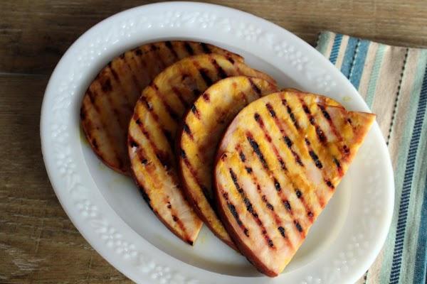 Citrus Glazed Ham Steaks Recipe