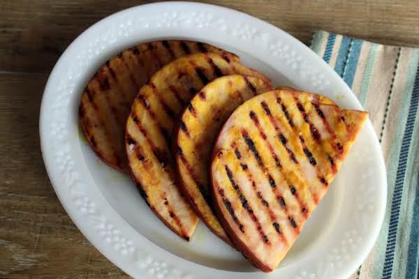 Citrus Glazed Ham Steaks