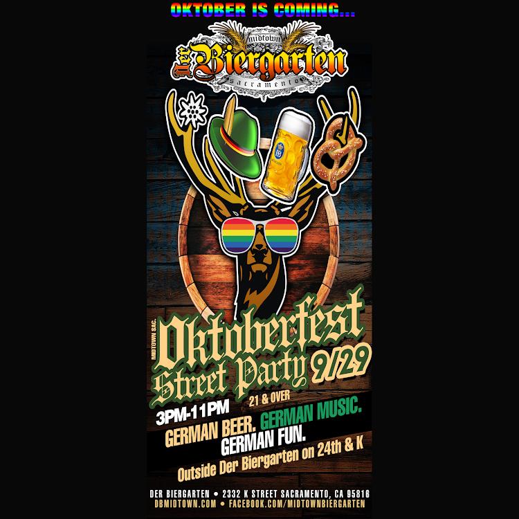 Logo for Oktoberfest Midtown Sacramento