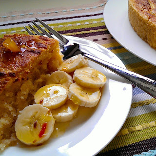 Cassava and Coconut Cake
