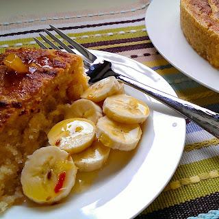 Cassava and Coconut Cake.