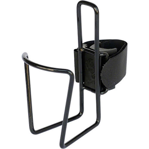 TwoFish QuickCage 24oz Water Bottle Cage: Vinyl Coated Black