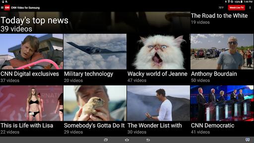 CNN for Samsung Galaxy View  screenshots 5