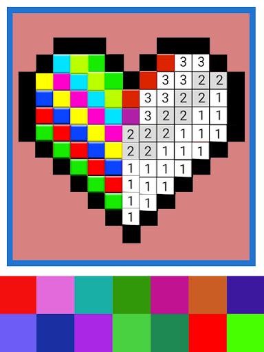 sandbox color by number - my pixel art 1.0 screenshots 13
