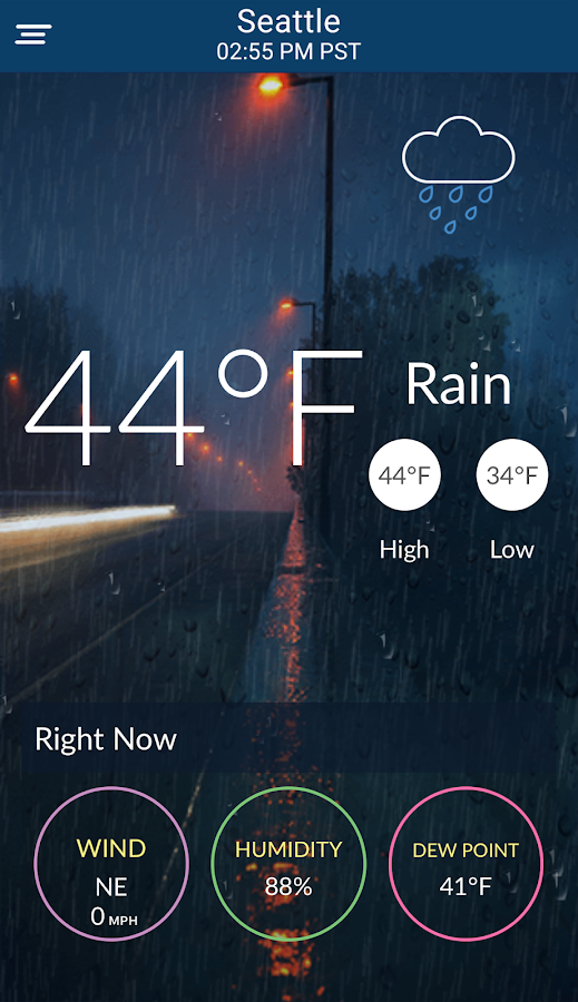 WeatherScope - Live Streaming Video Chat Message- screenshot