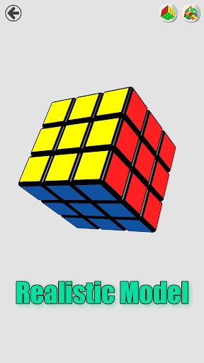 Rubik Cube - Solve puzzle, Learn Algorithms 2.2 screenshots 4