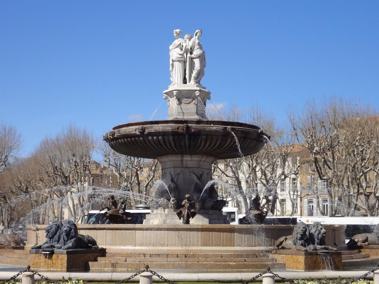 Fontaine de la Rotonde d'Aix-en-Provence