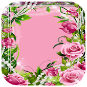 Beautiful Flower Photo Frame