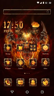Skull Hellfire Theme - náhled
