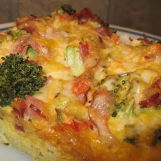 Hashbrown Crusted Brunch Casserole.